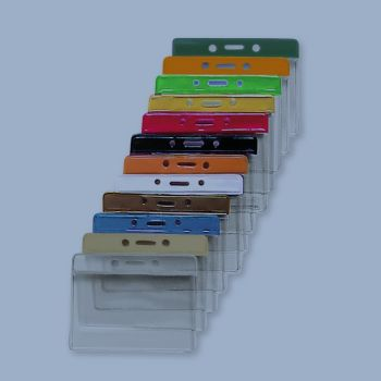 Cardholder Vinyl - Coloured Horiz.   / 100 Pcs