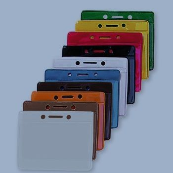 Vinyl Card holder - colour Backsite  / 100 Pcs