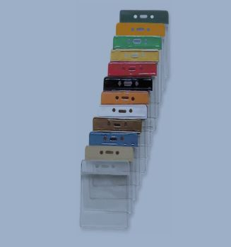 Vinyl Card holder - colour Vertik. / 100 Pcs