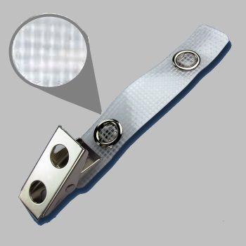 Vinylstrap with metal push button  / 100 Pcs